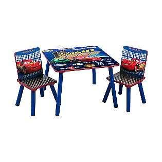 Stupendous Disney Cars Drift Toddler Sofa Chair And Ottoman Set Beatyapartments Chair Design Images Beatyapartmentscom