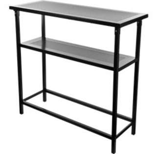 Generic Deluxe Metal Portable Bar Table w/ Carrying Case