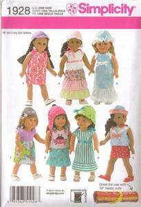 18 Doll Clothes Sewing Pattern Fits American Girl Cute Summer Sailor