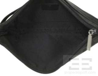 Gucci Black Monogram Canvas & Leather Small Hobo Bag