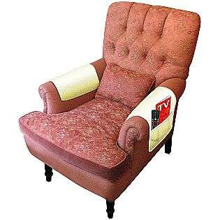 piece Fleece Style Armchair Covers with Pocket  Trademark Computers