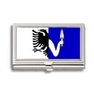 Connacht Irish Province Flag Business Card Holder Metal