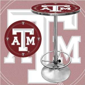 Trademark Global LRG2000 TAMU Texas A&m University Pub Table: