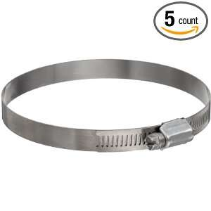 com Murray Worm Gear Stainless Steel 316 Hose Clamp, Stainless Steel