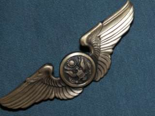 WING WW2 US ARMY AIR CORPS CREW MEMBER FULL SIZE SHORT POSTS ORIGINAL