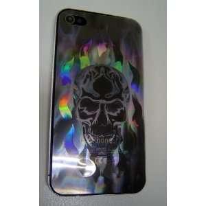 Poetic (TM) 3D Holographic Laser Film Skull Devil for