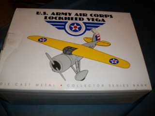 AIRPLANE U.S. ARMY AIR CORPS LOCKHEED VEGA NIB