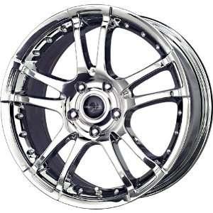 Liquid Metal Venom Chrome Wheel (17x7.5/4x100mm