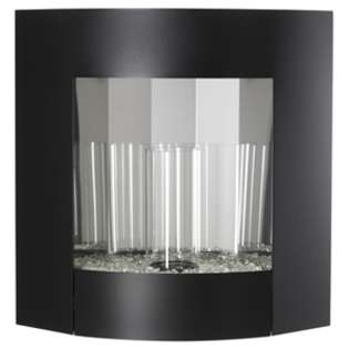 Inspiration Wall Hanging Gel Fireplace   in Black Finish