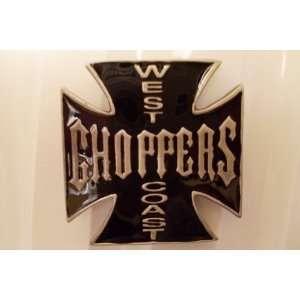 West Coast Choppers Belt Buckle Black glazed Everything