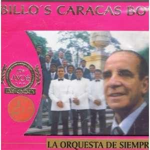 Los Anos De Oro La Orquesta De Siempre Billos Caracas