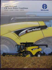 New Holland CR920 CR940 CR960 CR970 Combine Brochure