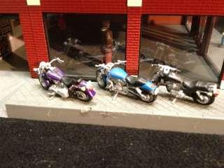 Davidson Motorcycle Dealership 30 90111 O Scale 2005 Model Train