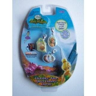 : Disney Fairies Pixie Hollow Clickables Charms   Fawn: Toys & Games