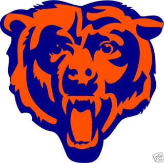Chicago Bears NFL Football Car Bumper Sticker 5X5
