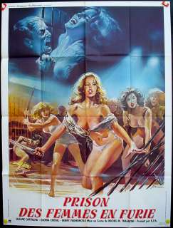 WOMEN IN FURY Carvalho, Cristal, Original Poster 47x63