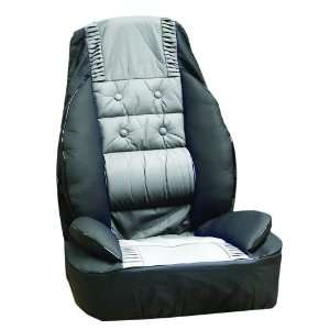 Coverking SPC 16 Gray/Black Luxury Universal Fit Seat