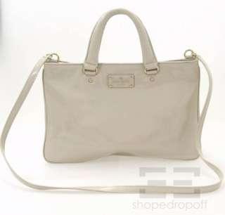 Kate Spade Bone Patent Leather Crossbody Handbag