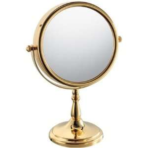 Vintage victorian make up vanity stand hand mirror new for Gold stand up mirror