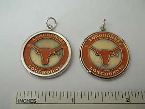 Sterling Silver University of Texas Longhorn 26mm Charm