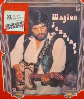 VTG WAYLON JENNINGS Dukes Hazzard Willie Nelson Johnny Cash Highwaymen
