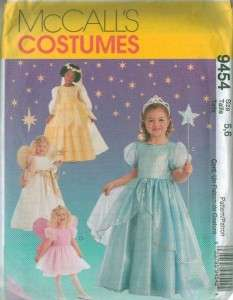 Storybook Princess Characters Costume Sewing Pattern Halloween Childs