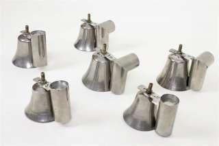 Deagan Tap Bells hand bells handbells vintage c1920 Leedy Malmark