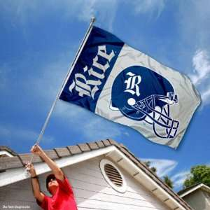 Rice Owls University Large College Flag