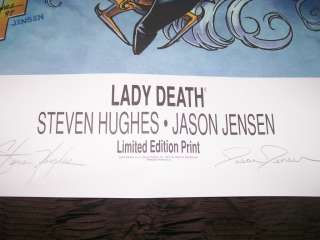 LADY DEATH, EVIL ERNIE, PURGATORI OCTAGON, ONYX CGC MASTER COLLECTION