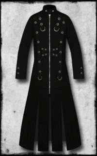 TRIPP GOTH STEAMPUNK NIGHTWALKER TRENCH COAT JACKET SZ