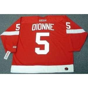 MARCEL DIONNE Detroit Red Wings 1971 Rookie CCM