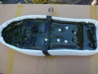 Honda C50 C70 C100 C102 cub long White/B seat saddle