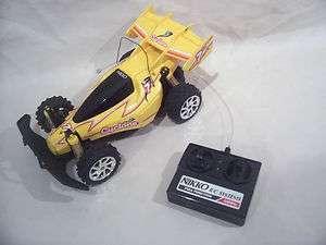 Vintage Nikko Cyclone Remote Control Car 1984