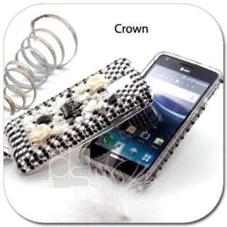 BLING Rhinestone Skin Case Cover Samsung Infuse 4G i997