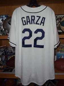 Matt Garza Tampa Bay Rays Majestic Jersey Large NWT