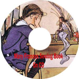 Mary Frances Sewing Book On CD & Set Of Doll Patterns