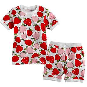 NEW Baby & Toddlers Sleepwear Set Sweet Strawberry