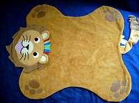 Baby Einstein Brown Lion Activity Blanket Play Mat Toy