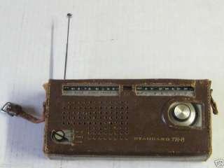 Vintage Old Standard TR8 Three Band 8 Transistor Radio