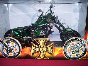 RARE!! JESSE JAMES 1/5 SCALE DIECAST WEST COAST CHOPPERS PENNY SAVED