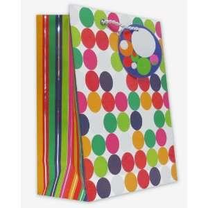 120 Pcs Premium Paper Gift Bags Bulk 10 x 8 x 4 (Chrome