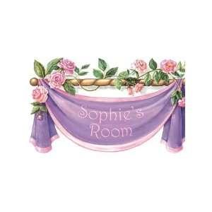 Wallpaper 4Walls Just for Girls Rose Banner KP1520SA: Home