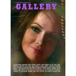 Entertainment Gallery March 1973 Books