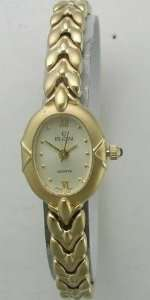 Elgin Watches Elgin Gold Tone Womens Watch Watches