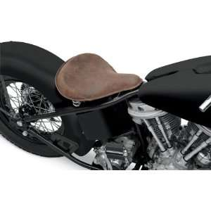 Specialties Distressed Brown Leather Large Spring Solo Motorcycle Seat