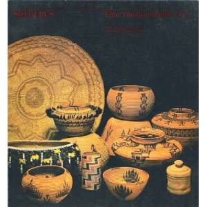 Fine American Indian Art [Sothebys, April 25, 1981, Sale