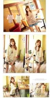 Casual Girls Floral Hollow Tank Top Vest Skirt Mini Summer Dress Short