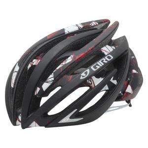 GIRO AEON RACE CYCLING HELMET Matte Black/Red Explosion Bike SMALL S