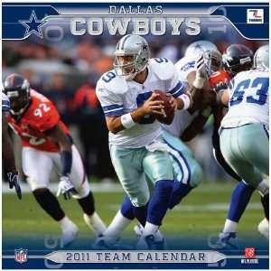 Dallas Cowboys NFL Team   2011 Wall Calendar: Office