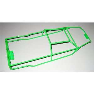 Revo 3.3 Green Powder Coated Stainless Steel Full Roll Cage